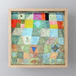 Paul Klee Friendly Game Framed Mini Art Print