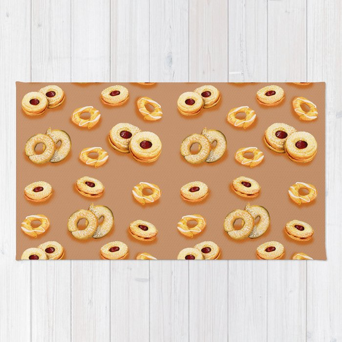 Biscotti-Butterum (pattern) Rug