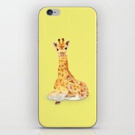 Giraffe. iPhone Skin