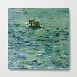 "Édouard Manet ""Rochefort's Escape (II)"" Metal Print"