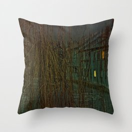 Concept landscape : Mystic mood in the city Throw Pillow