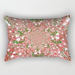 Merry Christmas, Happy Holidays Rectangular Pillow