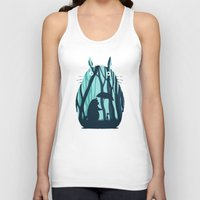 monika strigel Tank Tops featuring My Neighbor Totoro by filiskun