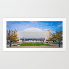 Ohio State Basketball Arena Print Art Print