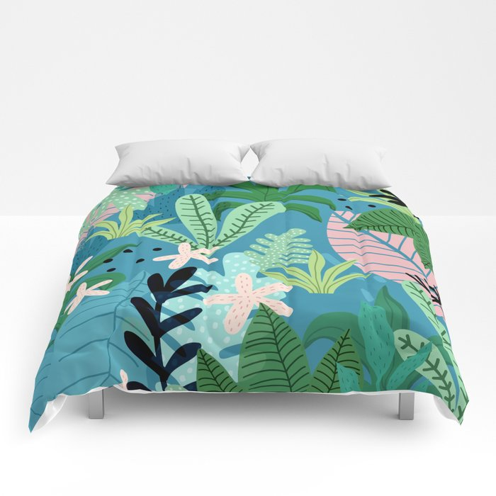 Into the jungle - twilight Comforters
