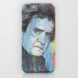 Johnny Cash - Man In Black iPhone Case