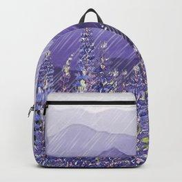 Purple Mountain Rain Backpack