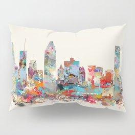 Montreal Quebec skyline Pillow Sham