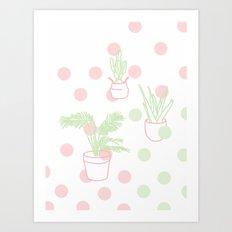 Plants, 2014. Art Print