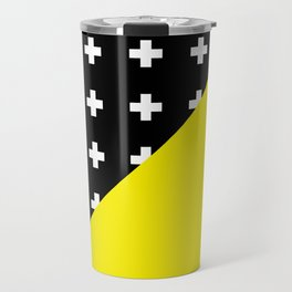 Memphis pattern 80 Travel Mug