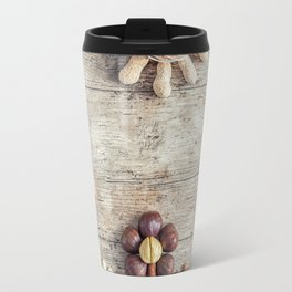 Dried fruits arranged forming flowers (3) Travel Mug