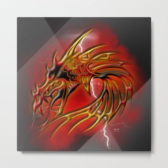 Dragon One Metal Print