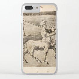 Hugo de Groot's Syntagma Arateorum 1600 - 35 Centaurus Clear iPhone Case