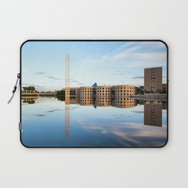 River river reflection Laptop Sleeve