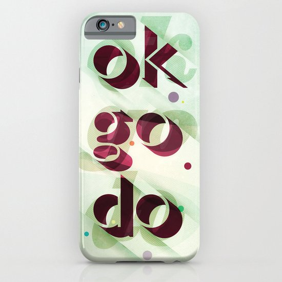 Ok Go Do iPhone & iPod Case