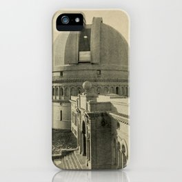 Lucas Albert Reed - Astronomy and the Bible (1919) - Yerkes Observatory, Lake Geneva, Wisconsin iPhone Case