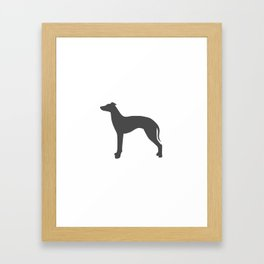 Greyhound Framed Art Print