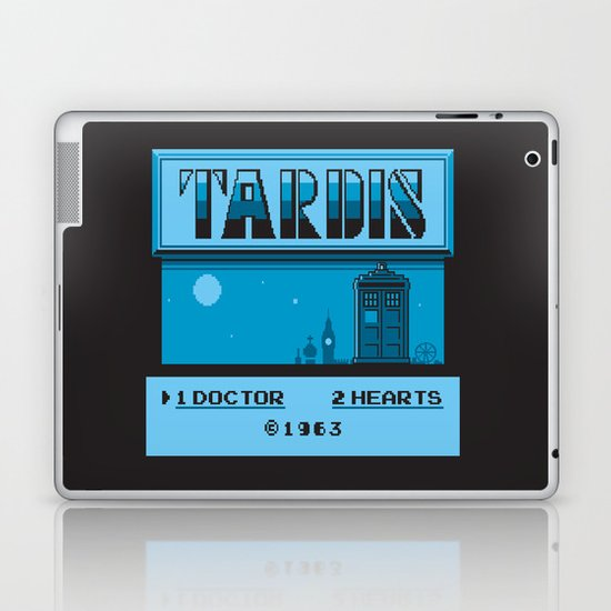 1 Doctor, 2 Hearts Laptop & iPad Skin