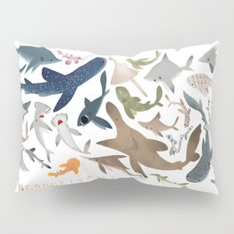 "FINconceivable Still ""Sharks"" Pillow Sham"