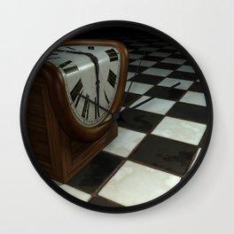 Melting Clock Wall Clock