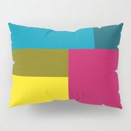 Color Block Pillow Sham