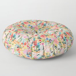 Flower Joy Floor Pillow