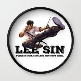 LEE SIN - League of Legends [marker sketch] Wall Clock