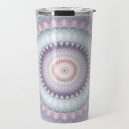 Heirloom Mandala in Pastel Colors Travel Mug