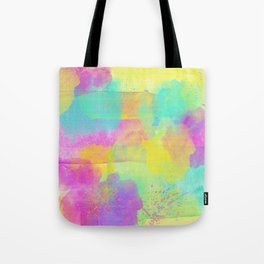 Rainbowcolors Watercolor Tote Bag