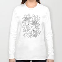 tangled Long Sleeve T-shirts featuring Tangled by JesusGun