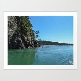 Canoe Pass Art Print