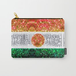 circuit board niger (flag) Carry-All Pouch