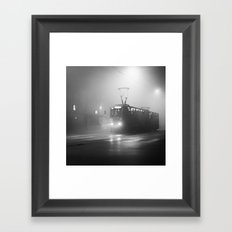 TRAM NUMBER 13 Framed Art Print