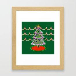 I'm not a Tacky Christmas Sweater Framed Art Print