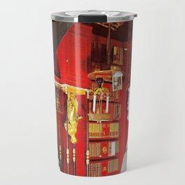 Obscured Face Travel Mug