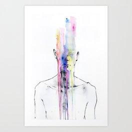 Man Art Art Print