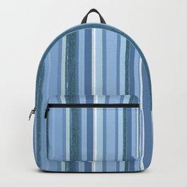 Stripes in Blue Backpack