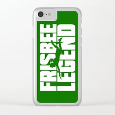 Frisbee Legend Clear iPhone Case