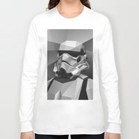 stormtrooper Long Sleeve T-shirts featuring Stormtrooper by Filip Peraić