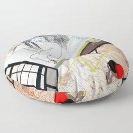 shibari_4 Floor Pillow
