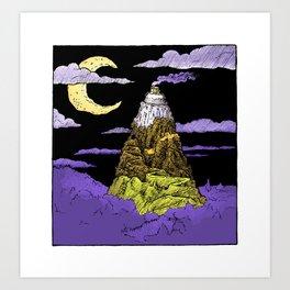 Big Candy Corn Mountain Art Print