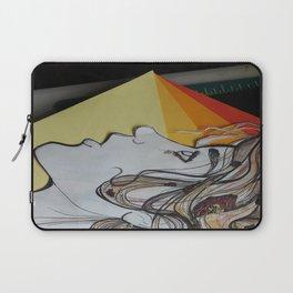 Starving Teapots Logo- Girl Laptop Sleeve