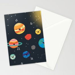 Solar System Cuties Stationery Cards