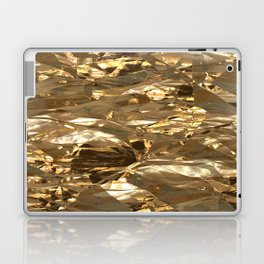 Gold Metal Laptop & iPad Skin