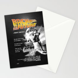 Back to The Future 2 Colors Stationery Cards