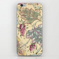 tiffany iPhone & iPod Skins featuring tiffany garden by Ariadne