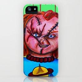 Chucky vs. Chuckie iPhone Case
