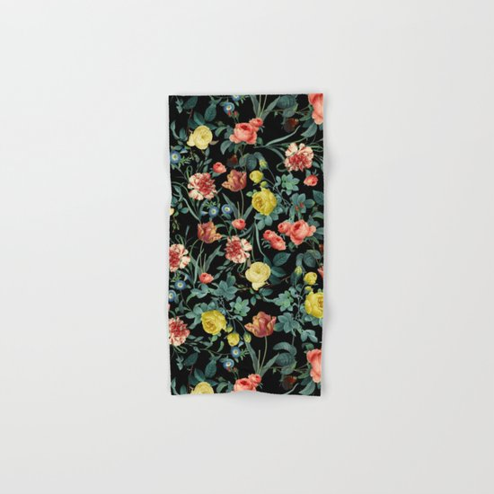 NIGHT FOREST XV Hand & Bath Towel
