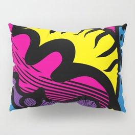 Prismatic Cat Pillow Sham