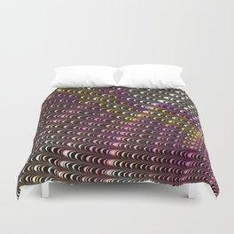coil abstract art, multicolor fractal Duvet Cover